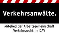 Mitglied in der Arbeitsgemeinschaft Verkehrsrecht im DAV